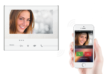 Al videocitofono si risponde dallo smartphone