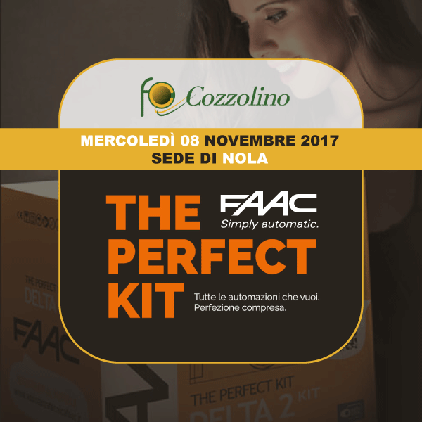 Cozzolino srl, Nola, Perfect Kit FAAC