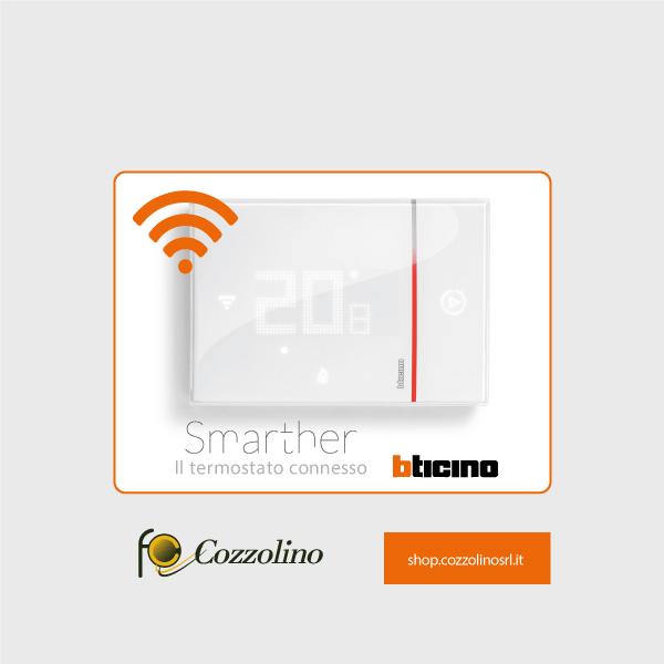 X8000 Smarther, cronotermostato, BTicino, termostato