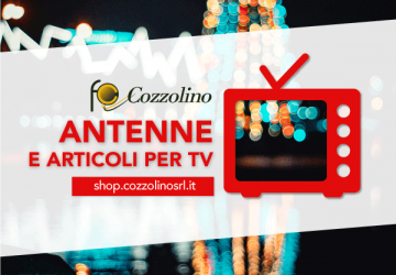 (Italiano) Drizza le antenne e sintonizzati sullo shop Cozzolino!