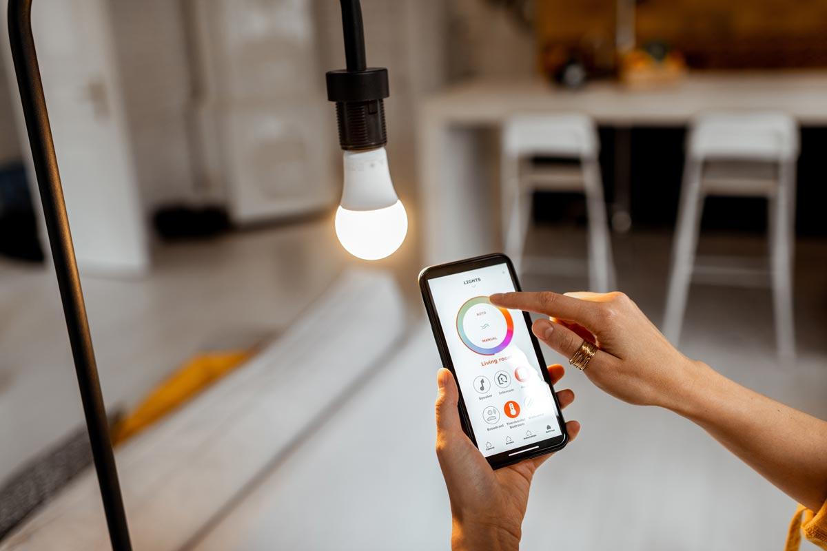 Smart home illuminazione