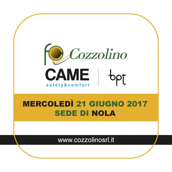 Cozzolino srl, Nola, Incontro tecnico, BTP, CAME, videocitofono MTM