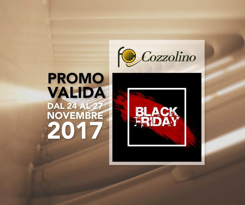 Cozzolino srl, Black Friday 2017, illuminazione