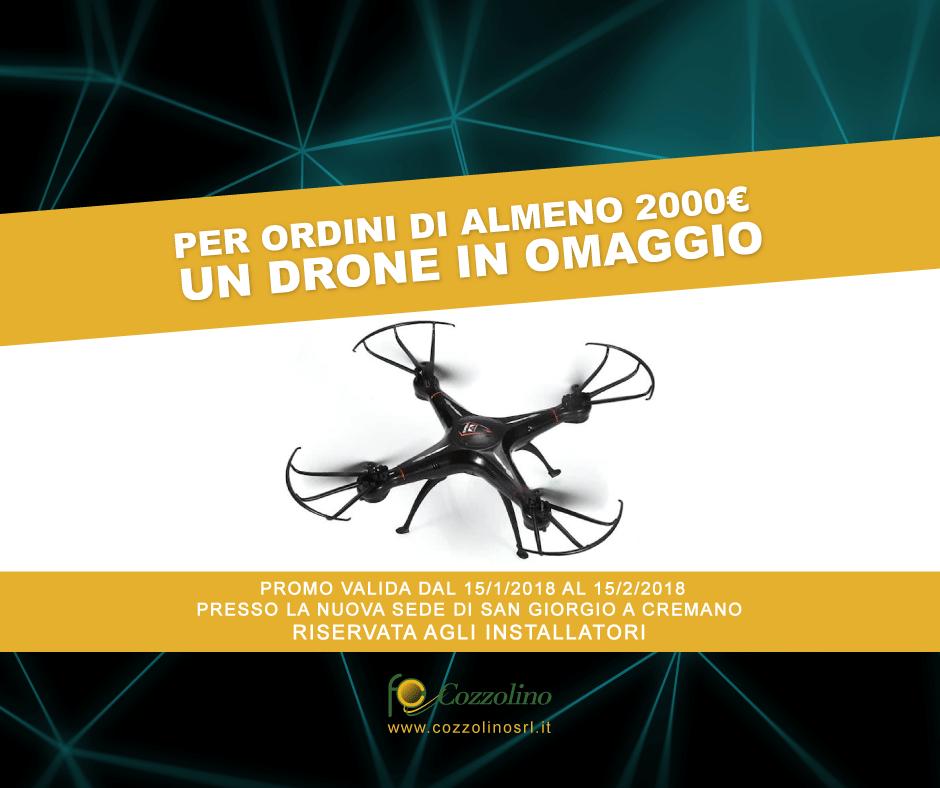 Cozzolino, Cozzolino srl, drone, promozione, installatori, drone, San Giorgio a Cremano, materiale elettrico San Giorgio a Cremano