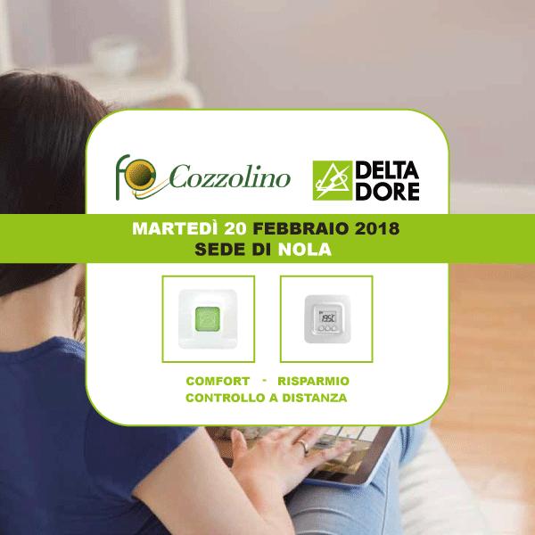 domotica Delta Dore, Cozzolino, Nola, incontro tecnico