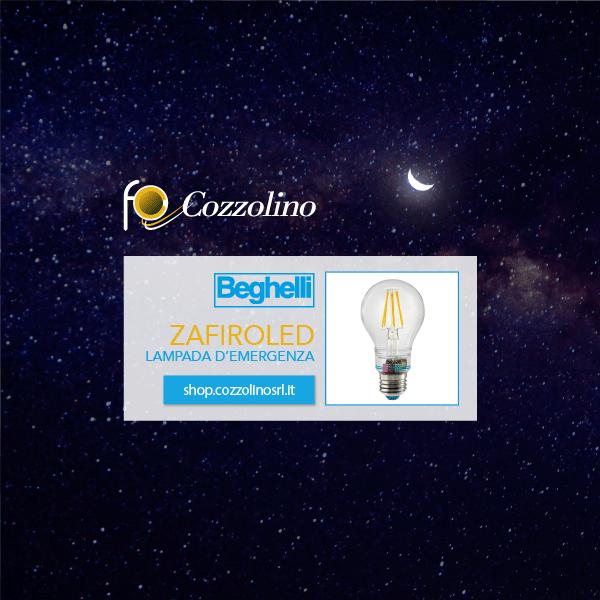 ZafiroLED Sorpresa, lampada, lampada LED, lampadina, illuminazione, Cozzolino